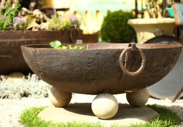 Our Original Kadai water feature at Chelsea Flower Show 2016